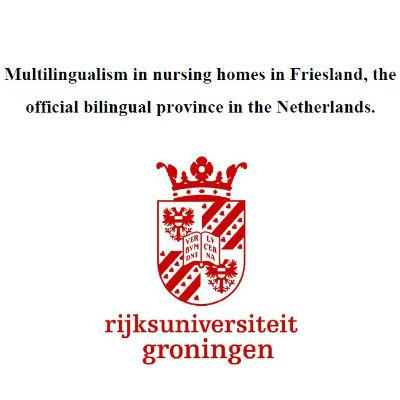 Multilingualism in nursing in Friesland<br>homes - 2014 (EN)